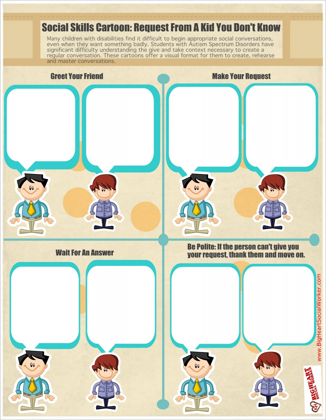 Printables Social Skills Training Worksheets f a s t advice frequently asked social worker tips skills worksheet autism conversation